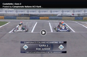 ACI 7-Laghi ROK Junior Race 2, 25 October 2020