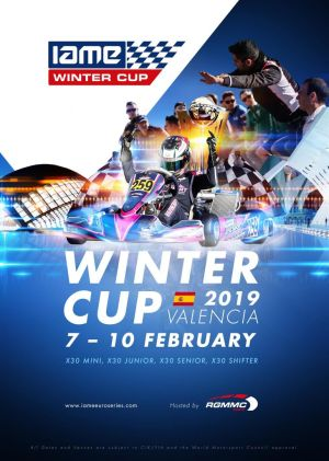 IAME Winter Cup 2019 Valencia